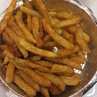 Chicken gyro & fries