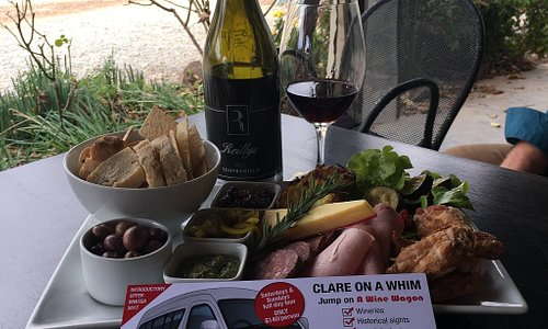 Jump on A WIne Wagon $85.00 week days in The Barossa incl. Lunch and a glass of Wine or Clare on