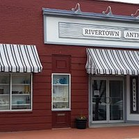 Rivertown Aniques is located in a 7500 sq ft 1920's industrial building in the Historic District