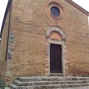La chiesa di San Pietro in Forliano