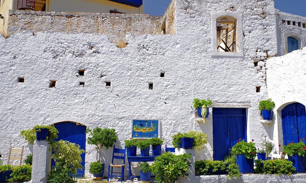 In den Dörfern Griechenlands, kann man eine Menge kulturelle Architektur entdecken.