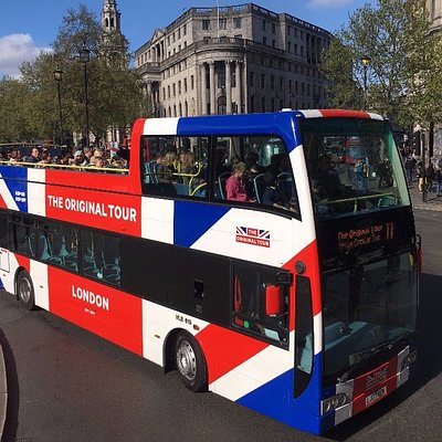 The Original Tour - Our new branding, an iconic look to reflect London and Great Britain!