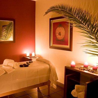 Sala das massagens/ Massage Room