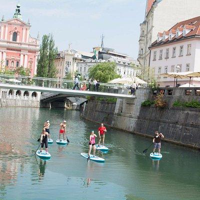Refreshing summer MUST DO in Ljubljana