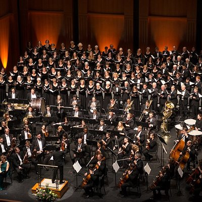 The Charleston Symphony Orchestra and CSO Chorus at the Gaillard Center