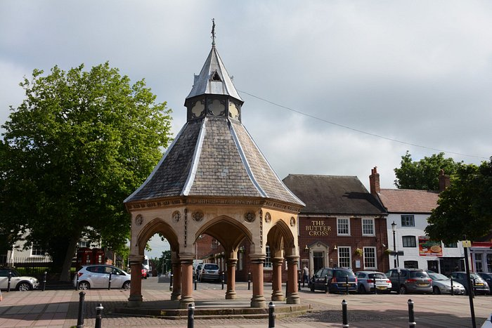 Don't miss the Market Cross either