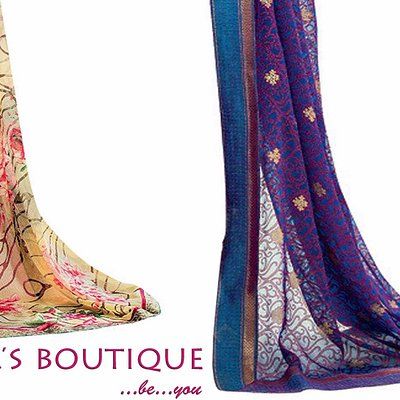The one stop shop for beautiful sarees:)