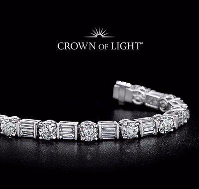 Crown of Light Bracelet only @ Diamonds International
