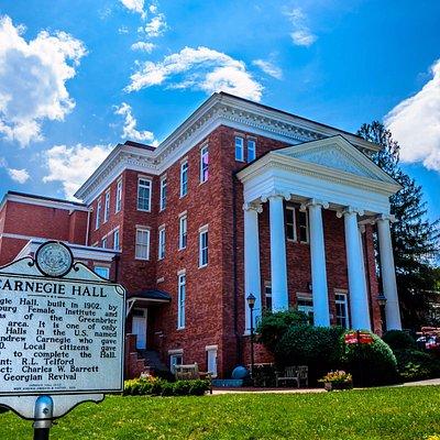 Carnegie Hall - Lewisburg, WV (Image by Melvin Hartley)