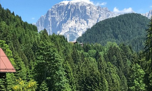 Vallada Agordina - Vista da sopra Todesch del Monte Civetta