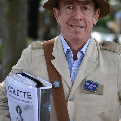 Thierry Le Roi créateur des Safaris Nécro-Romantiques dans les cimetières parisiens