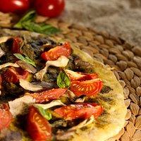 Une pate à pizza précuite qui permet à chacun de laisser libre cours à sa créativité