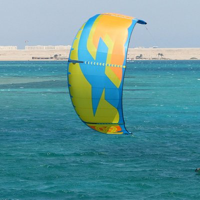 Excellent Kitesurf conditions and lots of space