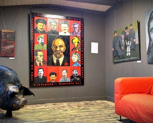 PigSnout art gallery St.Petersburg