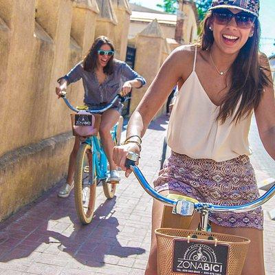 Disfruta del paseo con ZONA BICI- Enjoy the ride with ZONA BICI
