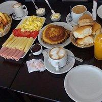 cuando desayunar es mas que un cafe..