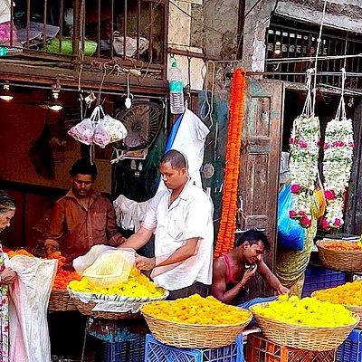 Bazaar trail in Mumbai