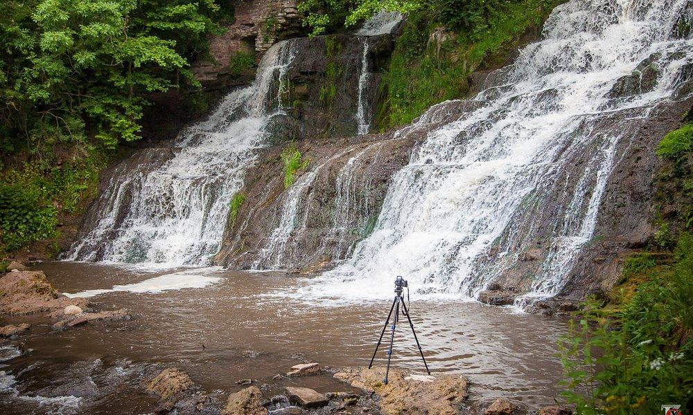 Джуринский водопад.