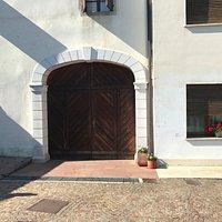 Front door to the main building