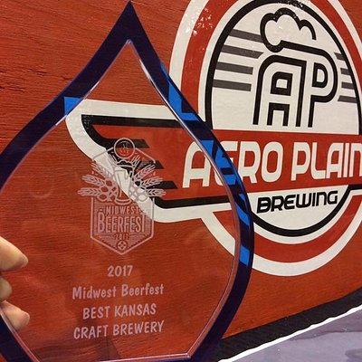 Voted Best Kansas Craft Brewery at the 2017 Midwest Beer Fest