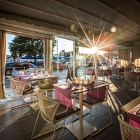 Terrace in the sunset - Porat Restaurant & Bar, Dubrovnik - Gruz area