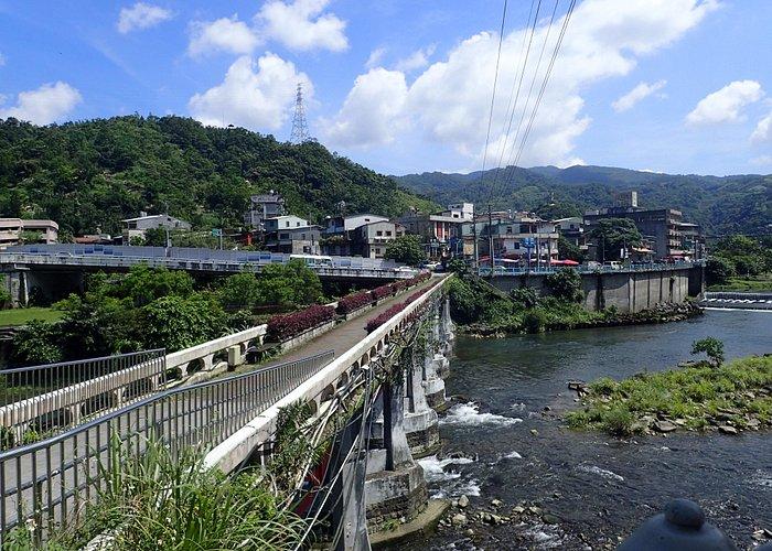 川沿いののんびりした町です。