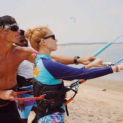 Kitesurfing Land Lesson