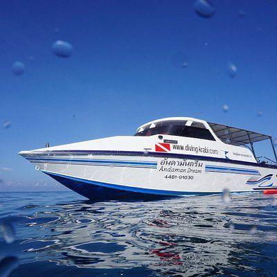 Andaman Dream is our fast comfortable boat custom built for diving