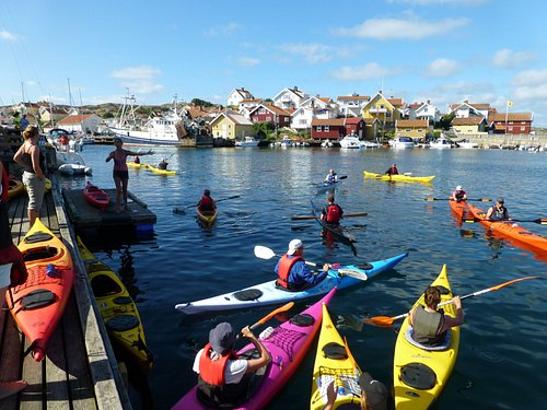 Heading out for Skaftö roundtrip!