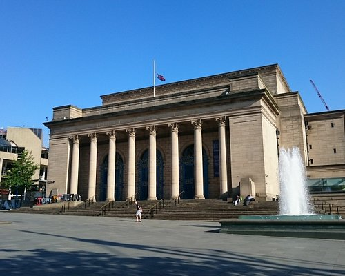 Sheffield City Hall. 17 June 2017.