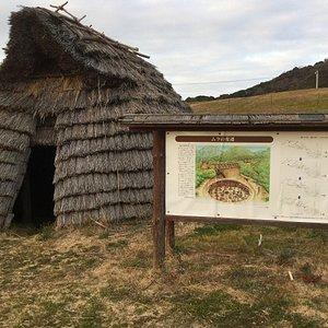 竪穴式住居(小)
