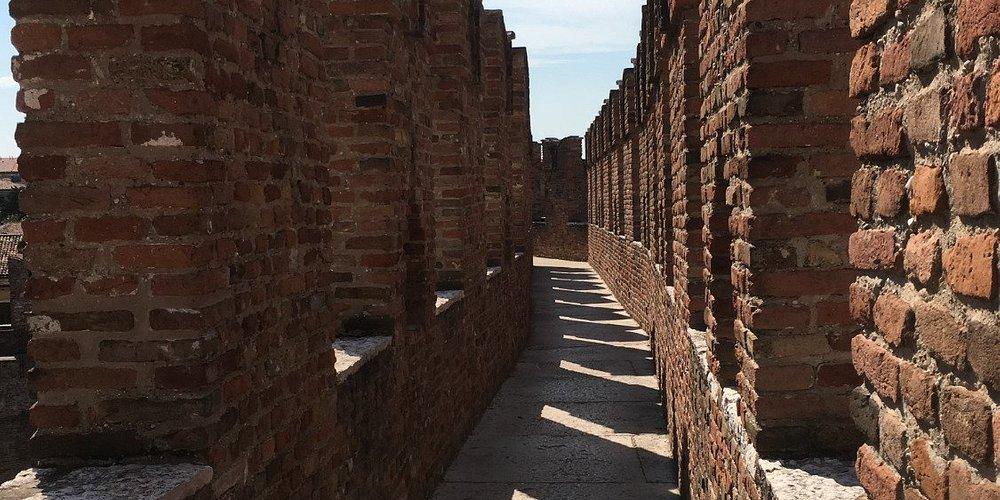 Walking the battlements