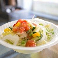 Vorlagensalat bei MED als Liefersalat