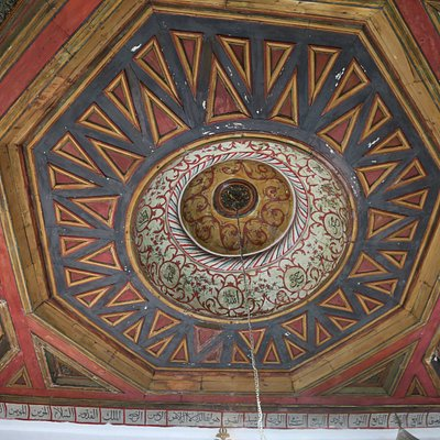 Inside of King's Mosque
