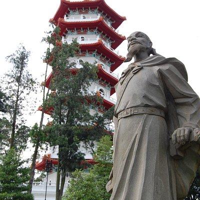 La pagode.