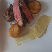 Delmonico steak entree