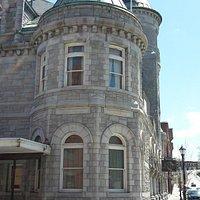 corner office on the second floor