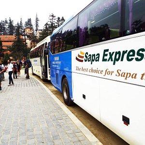 Sapa Express: Luxury 28 soft seats