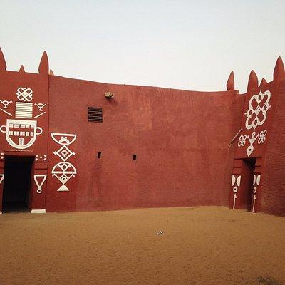 First internal courtyard