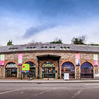 The Museum is a striking building, having been used as a Tram and Bus Depot previously