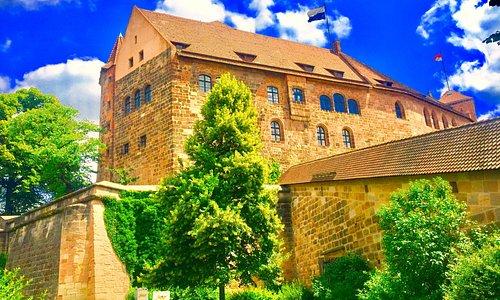 Kemenate und Palas (Kaiserburg)