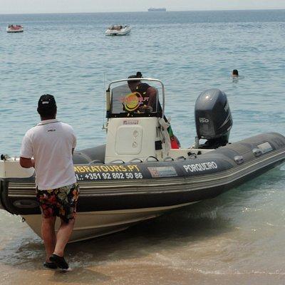 Como chegamos às Praias difícil acesso !