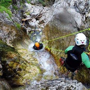Predelica canyoning adventure