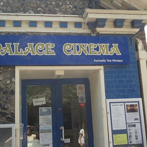 Entrance to Cinema.