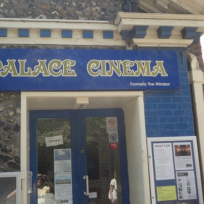 Entrance to Cinema.