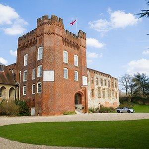 Front View of Farnham Castle