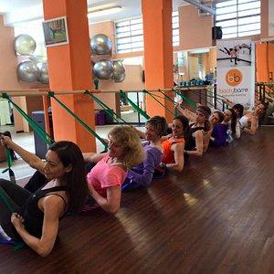 bootybarre flex & flow @ fitness barre studio - milano