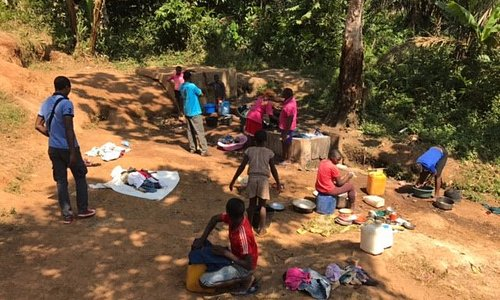 Babou, small village in Cameroon suffering from Water accessibility