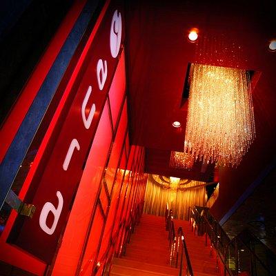 Aura Nightclub Entrance