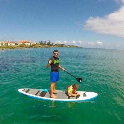 Clases de sup y paddle surf en Noja Cantabria para familias, parejas, disfrutar de Trengandín